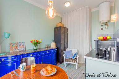 Sumptuous 1 bedroom with balconies and AC - Dodo et Tartine