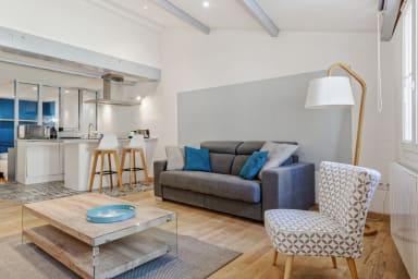 Bel appartement à l'esprit loft au coeur du Panier à Marseille - Welkeys