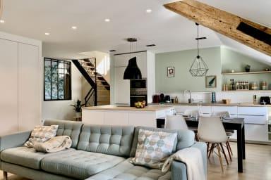 Hyper centre✨Luxueux Duplex dernier étage,Climatisé, Netflix, #AJ