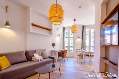 Exceptional 1 bedroom with A/C - Dodo et Tartine