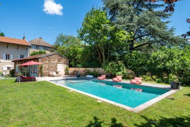 L'Antiquaire - Maison de famille chic et tendance avec jardin et piscine