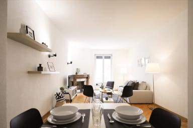 Sehr schöne Wohnung in Les Pâquis in der Nähe des berühmten Jet d'eau.
