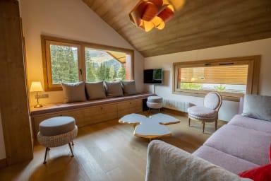 Somptueux appartement skis aux pieds