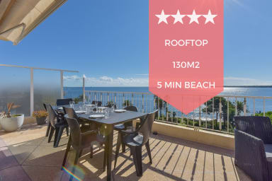 KIKILOUE ❤️ RARE ❤️ Rooftop terrace with breathtaking view over the bay