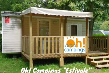 ESTIVALE de L'ESPIGUETTE - Mobil Home 2ch SANS SANITAIRE (sans sdb ni WC)