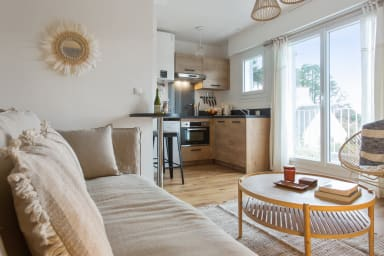 Cosy and calm 2br flat nearby Quiberon center, 8 min to the beach - Welkeys