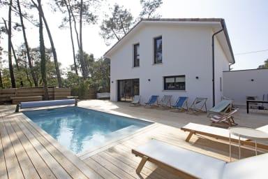 Superbe villa 5* avec piscine à Labenne-Océan, 500m de la plage - Welkeys