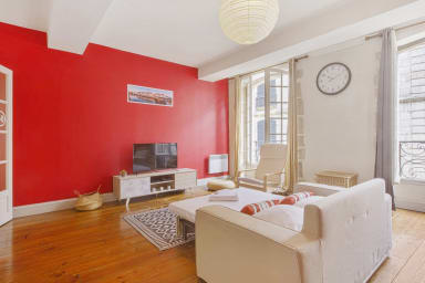 Charming flat in the historic heart, 2min to the river in Bayonne - Welkeys