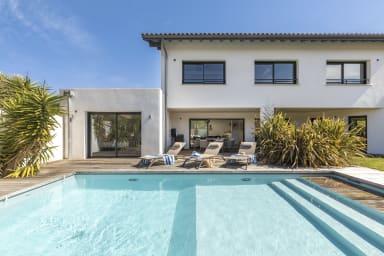 Villa Amore : l'élégance et la modernité avec piscine chauffée Biarritz