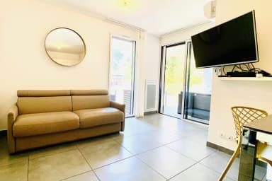 BNB RENTING Appartement 1 chambre dans un immeuble neuf avec piscine