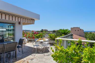 Penthouse lumineux avec grande terrasse et garage à Cannes - Welkeys