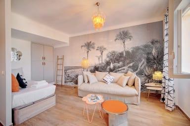 IMMOGROOM - Sea view apartment - 3 min from beach - A/C-CONGRESS/BEACHES