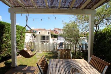 Appartement 2pièces RDC avec amarrage 12x4m