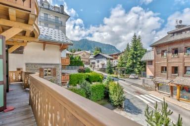 Chaleureux appartement avec balcon et parking au coeur de Megève - Welkeys