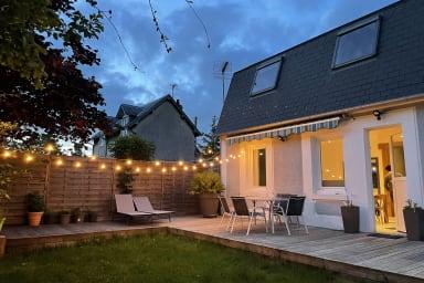 Jolie maison avec jardin sur les hauteurs de Trouville-sur-Mer - Welkeys