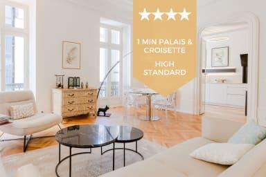KIKILOUE✌️ Hyper centre Cannes ✌ 4 pièces au pied du palais et des plages !