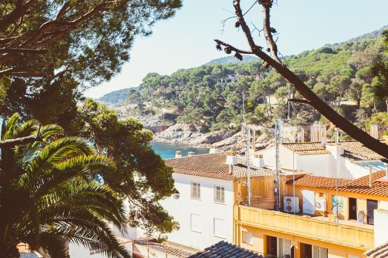 Tamariu Roca Rubia 1 Accogliente Terrazza E Balcone Con