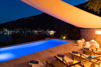 Villa Sivota, Exclusive Villa on the Beach with 99