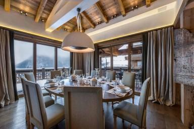 luxury ski holidays - Courchevel - Dining room - Chalet Bastidons