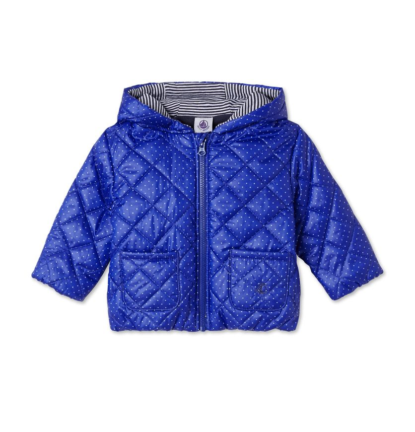 Baby girl's quilted jacket