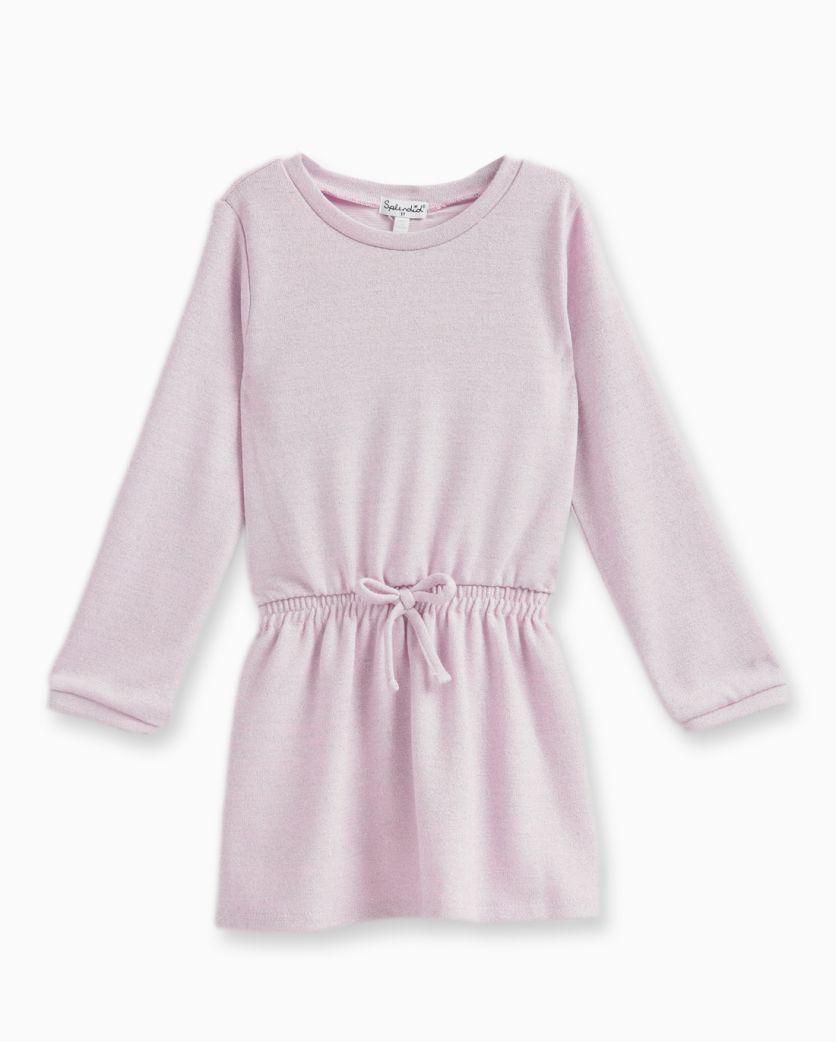 Little Girl Lurex Sweater Dress