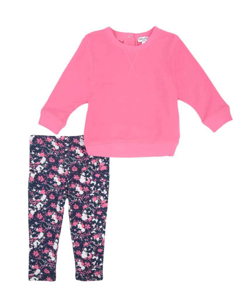Baby Girl French Terry Set