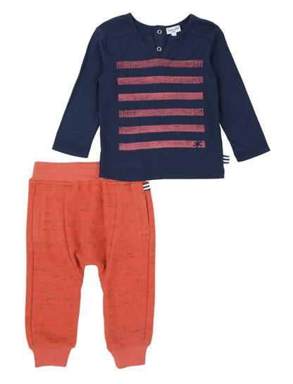 Baby Boy Knit Jogger Set