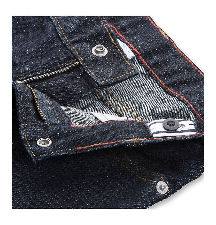 Boy's raw denim jeans
