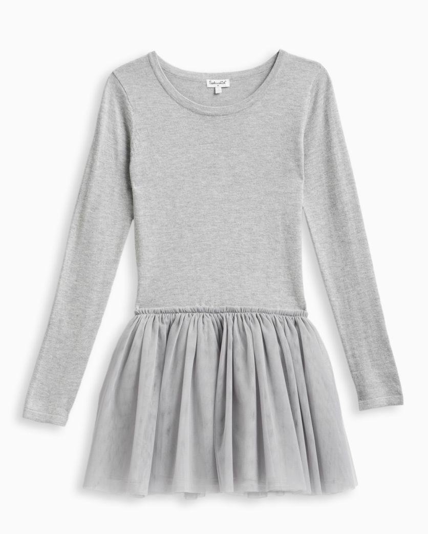 Girl Tutu Sweater Dress