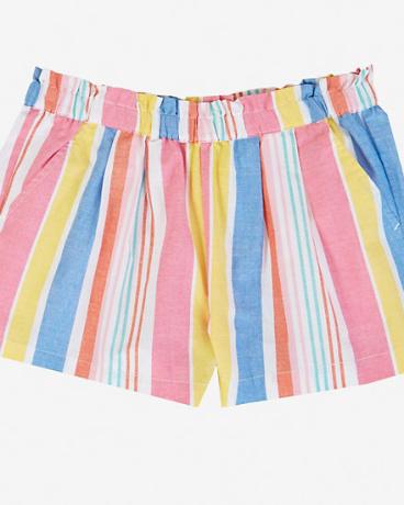 Little Girls' Pull-On Striped Short (2T-7)