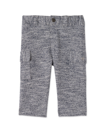 Baby boys' jersey knit trousers