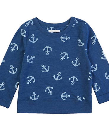Girls' Anchor Pullover Sweatshirt (8-16)