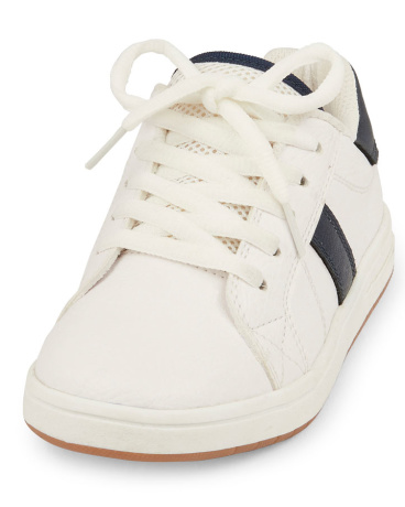 Boys Contrast Low-Top Jet Sneaker