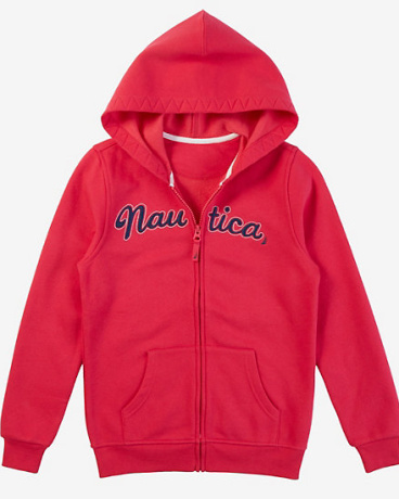 Little Girls' Anchor Hoodie (2T-7)