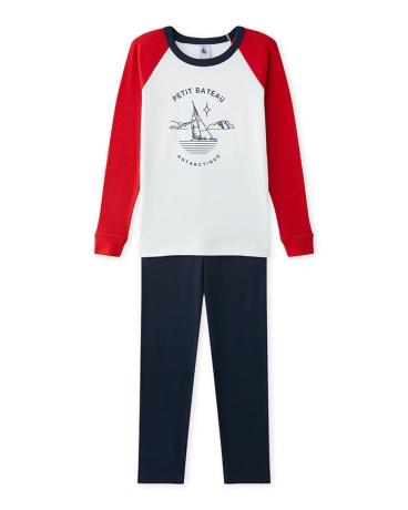 Boy's pajamas with motif