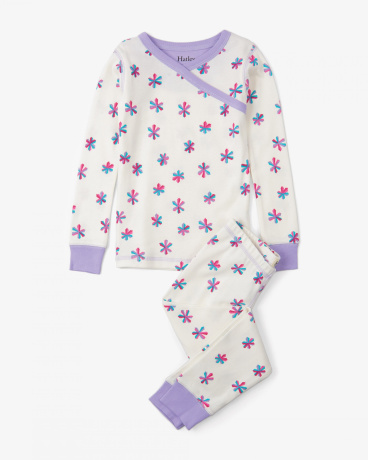 Snowflakes Organic Cotton Pajama Set