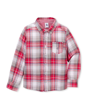 Boy's checked shirt