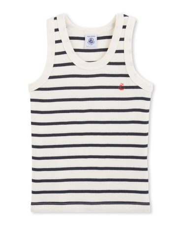 Boys' striped tank top
