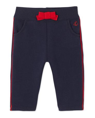Baby girl's fleece pants