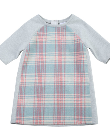 Joyce Plaid Shift Dress