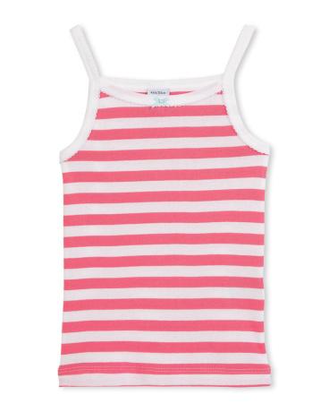 Girl's striped tank top
