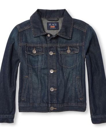 Boys Long Sleeve Denim Jacket