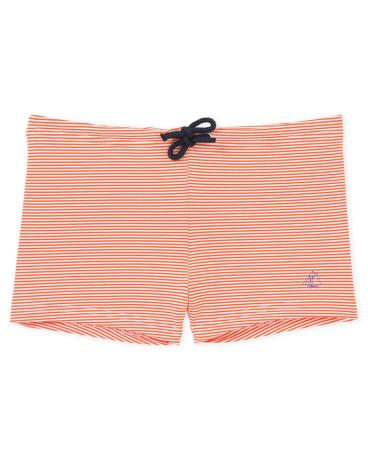 Boy's striped milleraies swim shorts