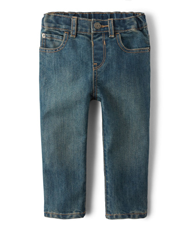 Baby And Toddler Boys Basic Skinny Jeans - Tide Pool Wash