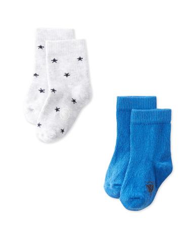 Set of 2 baby boys' socks
