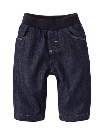 Baby lined denim trousers