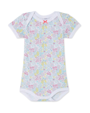 Baby girl printed bodysuit