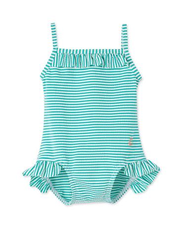 Baby girls' one-piece swimsuit