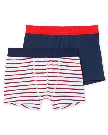 Pack of 2 boy's boxers in stretch jersey