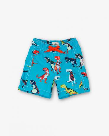 Roaring T-Rex Baby Swim Trunks